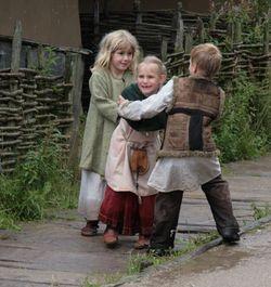 Barndom og leg i vikingetiden