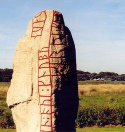 Over stok og runesten