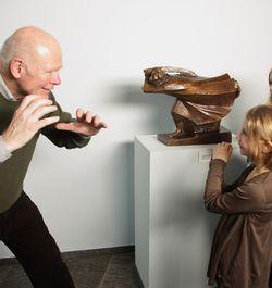Ingen frygt for stor kunst – 'øjenkontakt' med de store mestre!